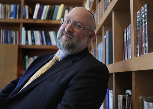 Rabbi Daniel Lehmann is president of Hebrew College.