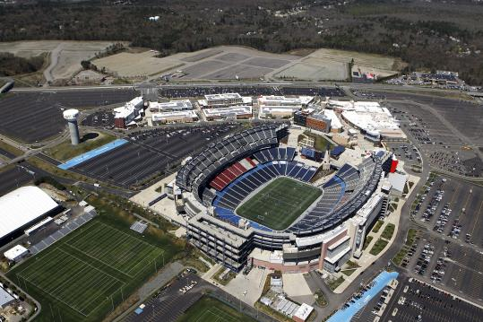The future of land across Route 1 from Gillette Stadium in Foxborough is unclear now that the Kraft-Wynn casino proposal has been taken off the table.