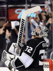 A little prodding from his coach in prep school seemed to give Kings goalie Jonathan Quick the proper incentive to excel.