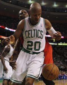 In Game 2 Monday night, resilient veteran Ray Allen led the Celtics with 17 points.