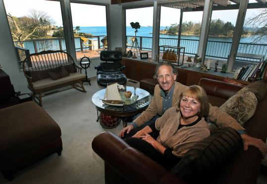 "Marblehead's Don and Barbara Dennis have swapped homes with others across the United States and Europe. ""There is a wonderful emotional side to home swapping,'' said Don Dennis."