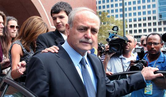Salvatore F. DiMasi is serving an eight-year federal sentence after being convicted last year on corruption charges.