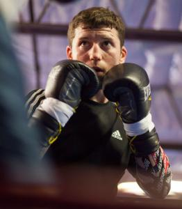 Danny O'Connor of Framingham had his first bout in Massachusetts in three years at the House of Blues Thursday.