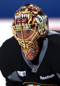 Goalie Tuukka Rask, 25, has suddenly become the face of the Bruins' franchise.