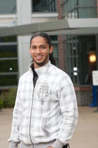 Herinell Linares, a student at Northern Essex Community College.