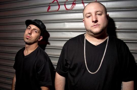 Rapper Termanology (left) and producer Statik Selektah have teamed up to take their sound