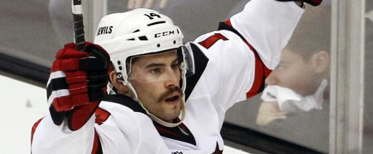 Rookie Adam Henrique gave the Devils a 2-1 lead in the third period.