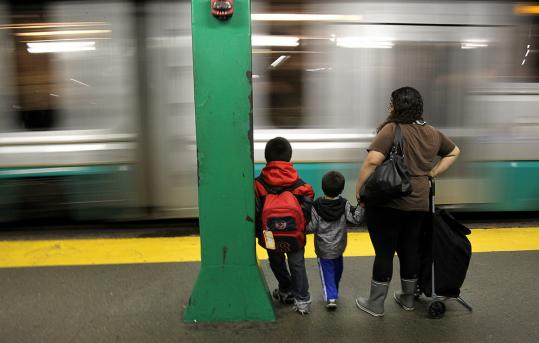 The report said MBTA riders should be prepared for 20 percent more company by the end of the decade.