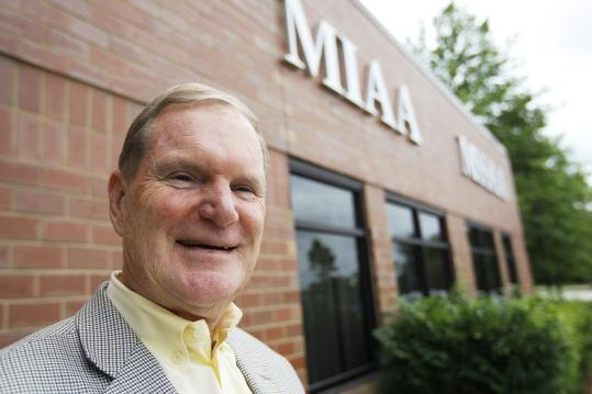 Natick&#8217;s Bill Gaine has spent 33 years at the MIAA.