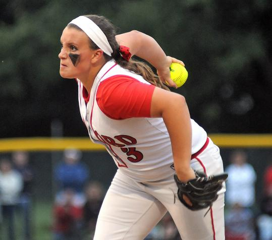 Milford pitcher Shannon Smith was dominant, allowing just one hit as her team earned the state championship.