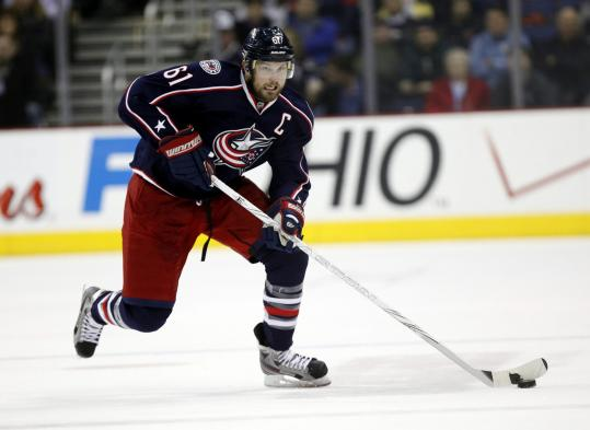 Columbus captain Rick Nash is there to be had for the right price.