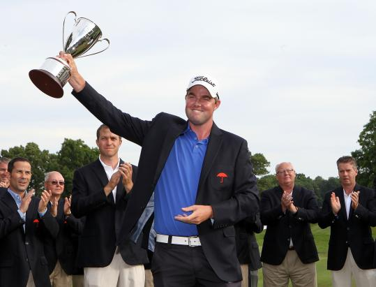 Marc Leishman shot a final-round, bogey-free 62 to secure his first PGA Tour victory.