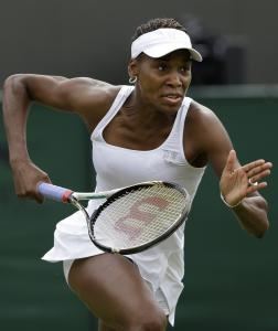 Venus Williams looked lethargic in her straight sets loss to 79th-ranked Elena Vesnina of Russia.