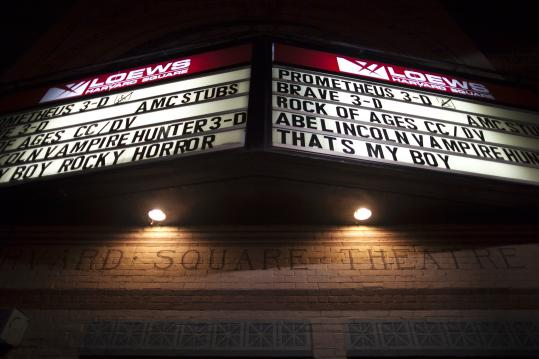"""The Rocky Horror Picture Show'' has been a longtime midnight feature at the AMC Loews theater in Harvard Square, which closes July 8. Some 300 fans attended this Halloween performance in 2006."