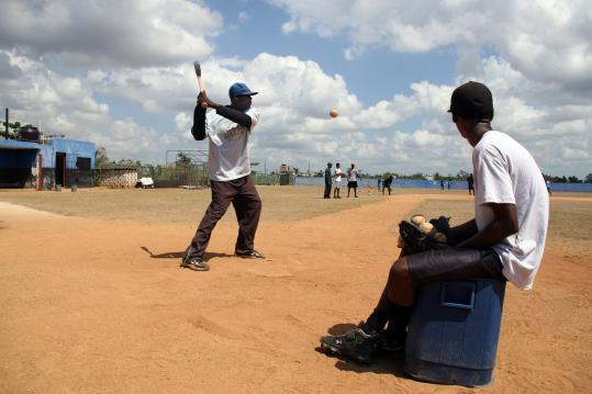 """""""Ballplayer: Pelotero"""" tracks two young Dominican prospects as they prepare for the signing date for 16-year-olds."""