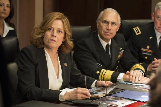 "Sigourney Weaver (above) and Carla Gugino (below) star in ""Political Animals."""