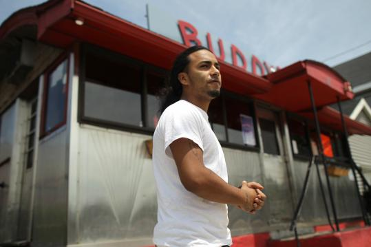 William Fuentes, 20, found his beloved Buddy's diner shut down by the state Department of Revenue.