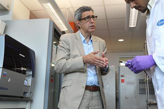 """We're trying to change biomedical research globally,"" said Jose-Carlos ""J.C."" Gutierrez-Ramos."