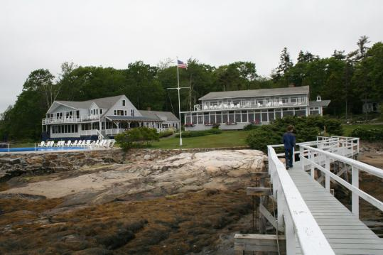 Linekin Bay Resort started out in 1919 as a girls camp.