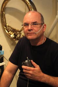 Dr. Joseph Grocela made devices at home.