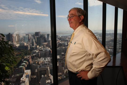 Kevin Landry has raised$15 billion over his career at TA Associates.