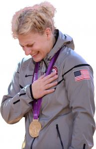 Judo, the sport of Kayla Harrison (left), is less well known than gymnastics, a benefit for Aly Raisman when courting corporate endorsements.