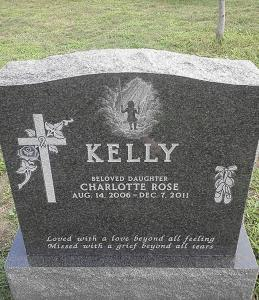 Charlotte Rose Kelly of Braintree died last December.