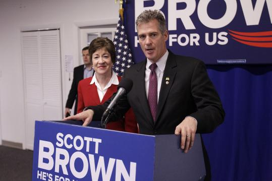 "Brown called it a mark of ""two good people"" who feel voters deserve better. ""The people of Massachusetts are entitled to hear from the candidates themselves,"" Warren said."