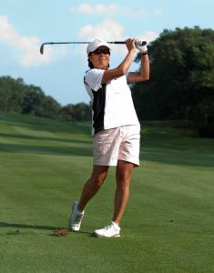 Pam Kuong of Wellesley earned medalist honors at the local qualifier with a 3-over-par 75.