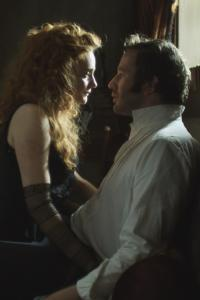 "Romola Garai and Chris O'Dowd in ""The Crimson Petal and the White.''"