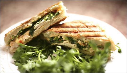 Turkey panini