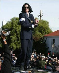 Michael Jackson in 2004