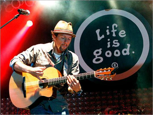 Good Day Sunshine Jason Mraz : Two day life is good festival proves fun for all ages