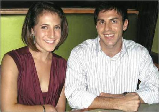 Ali Adler and Josh Freedman