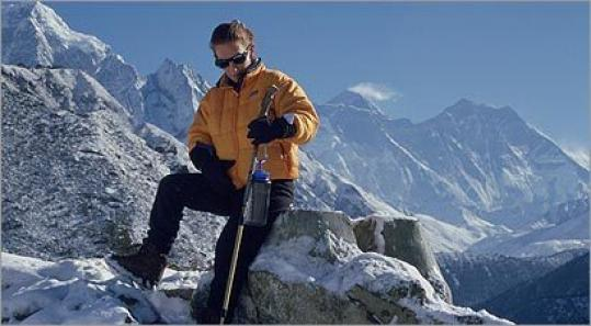 Ellen Frankel once climbed to the base of Mount Everest. ''Ultimately,'' she says, ''we are all dwarfed'' by the mountain.