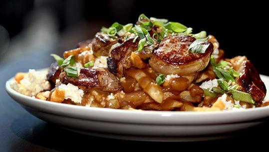 Foie gras poutine