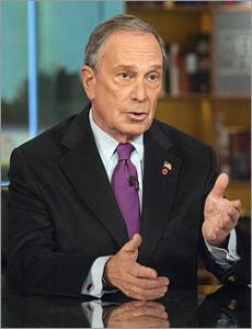 New York City Mayor Michael Bloomberg said yesterday philanthropy, not a presidential run, is in his future after he finishes his time in office.