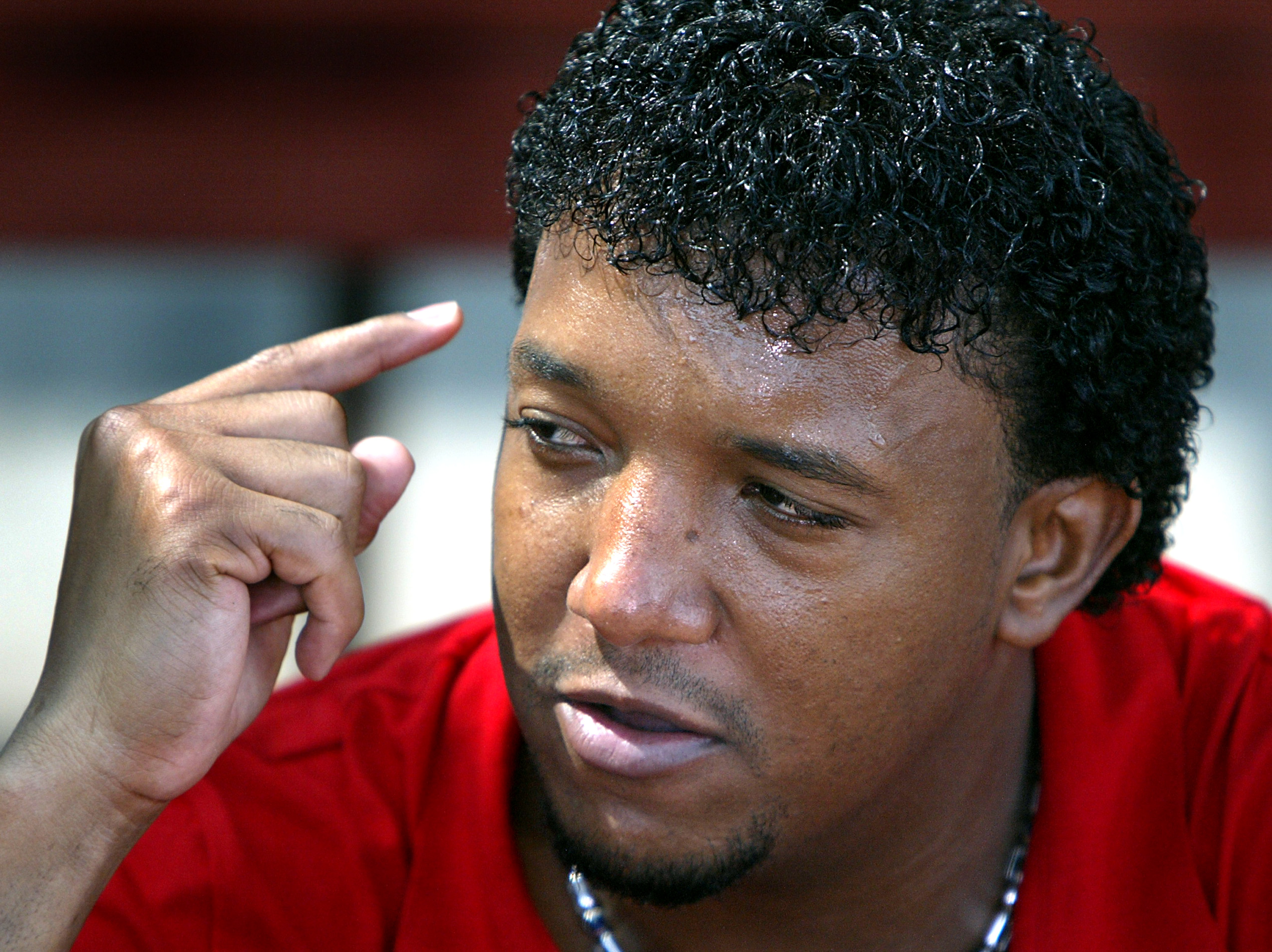 The 8 Most Important Jheri Curls Ever, from Pedro Martinez
