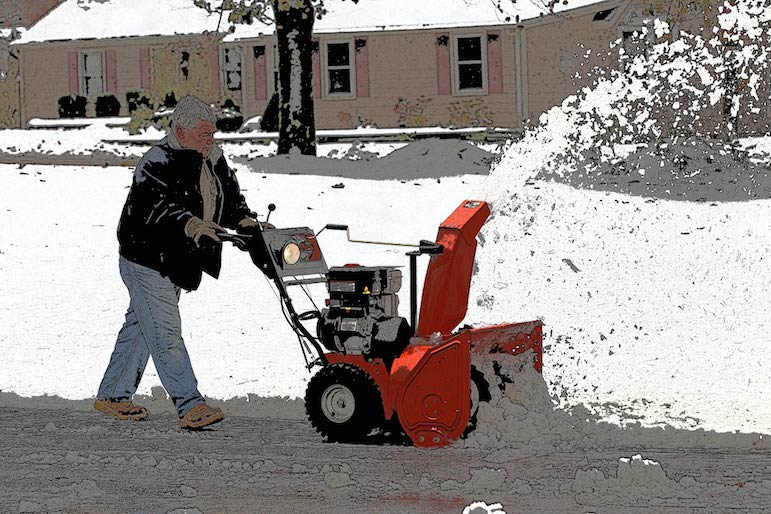 Servizio sgombero neve