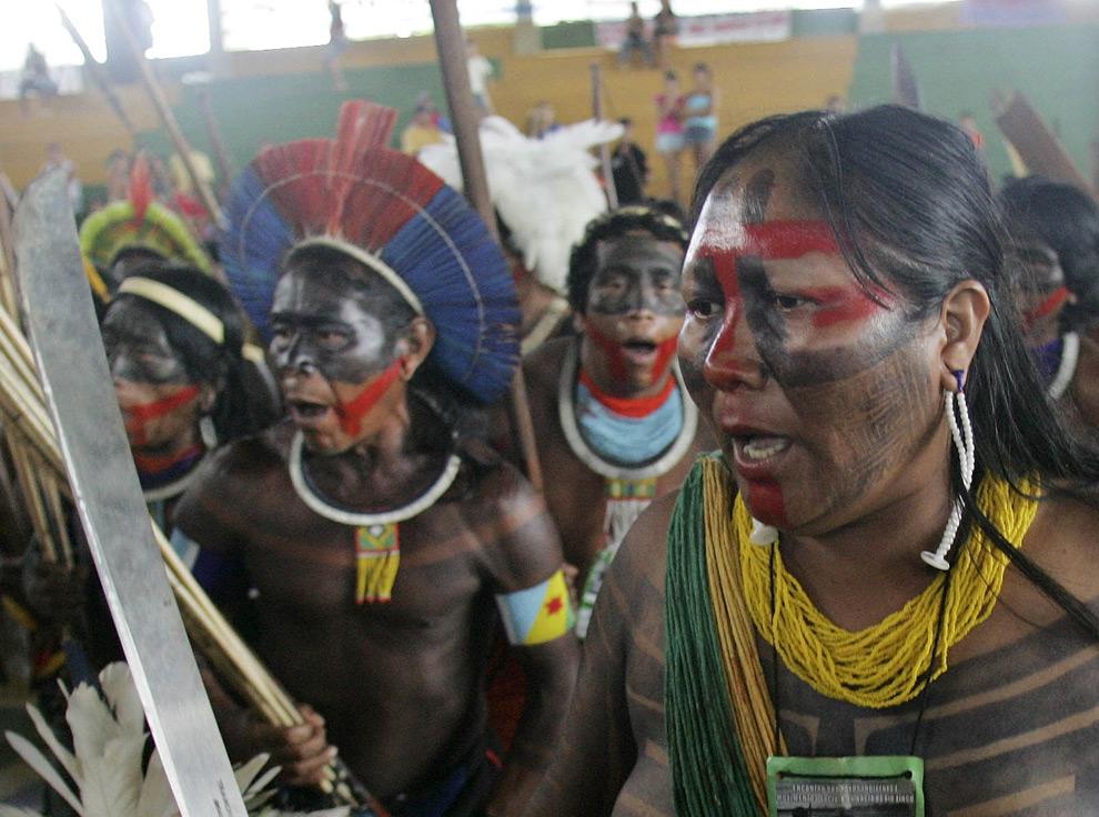 Amazonas indios ecologia America Sur