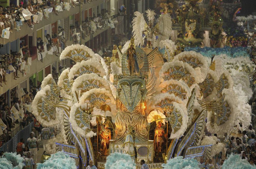 Carnaval de Rio de Janeiro, en el Sambodromo