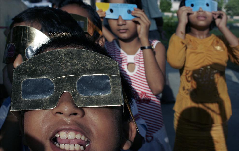 Como se vio el Eclipse total de sol en el Mundo