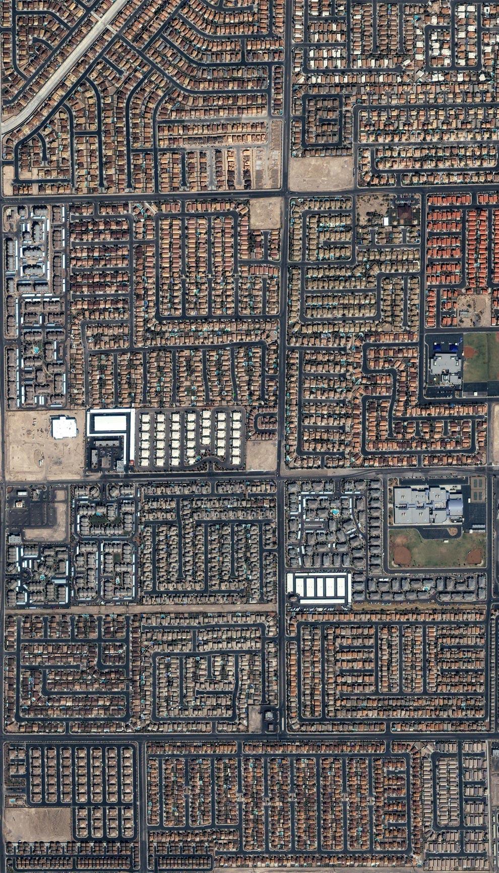 The Sprawling Suburbs of Las Vegas