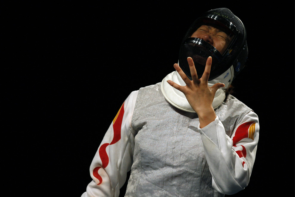 Women s olympic fencing photos the big picture