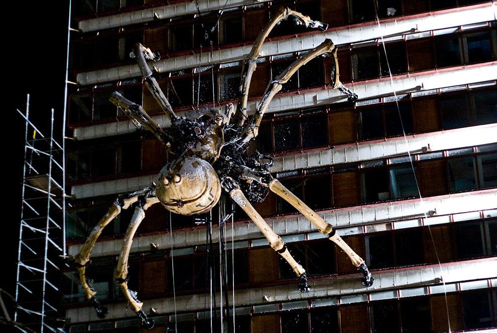 リバプールの巨大蜘蛛