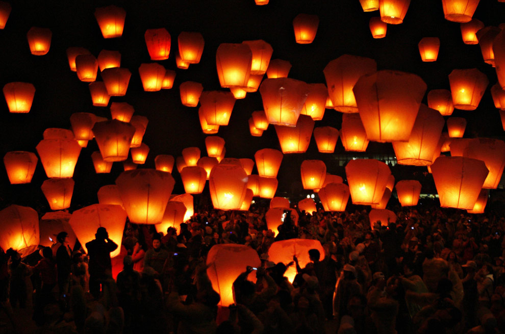 China's Lantern Festival, and an unfortunate ending - The Big ...