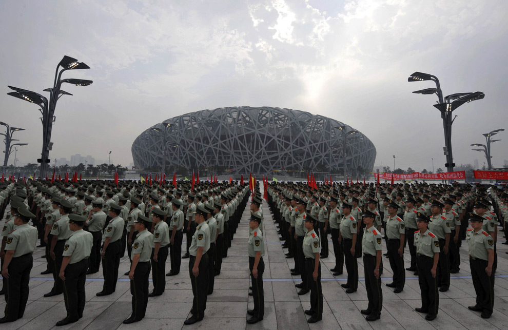 Security at Beijing Olympics