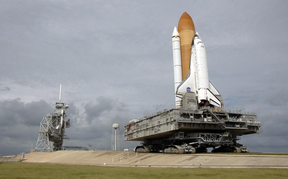 Moving Space Shuttle