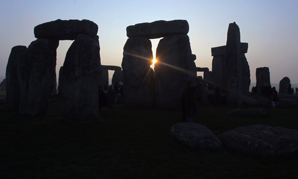 Signs of Spring - The Big Picture - Boston.com: Stonehenge