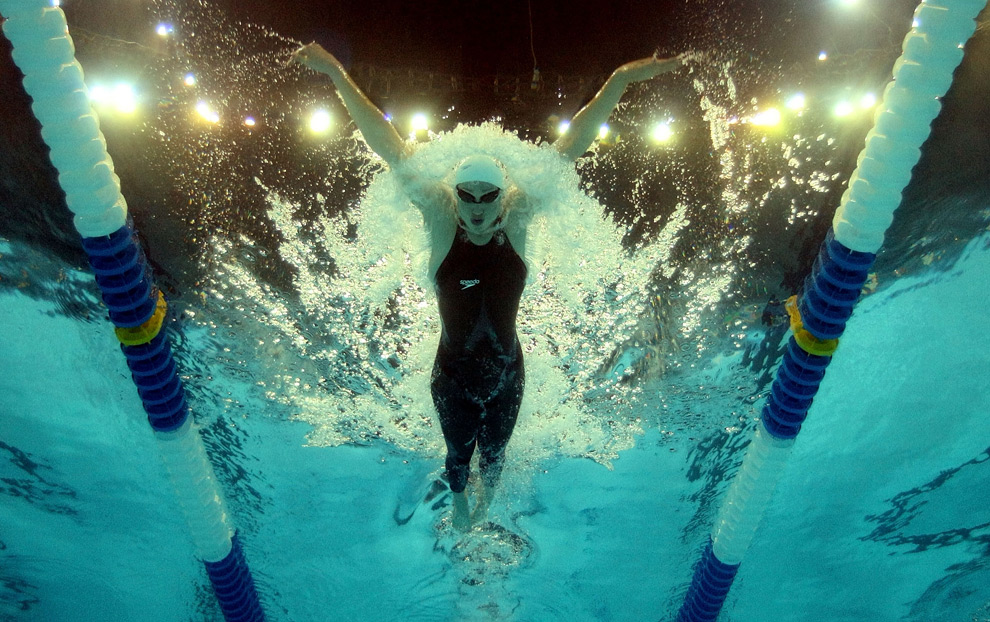 records fall at us olympic swimming trials photos the big picture bostoncom - Olympic Swimming Underwater
